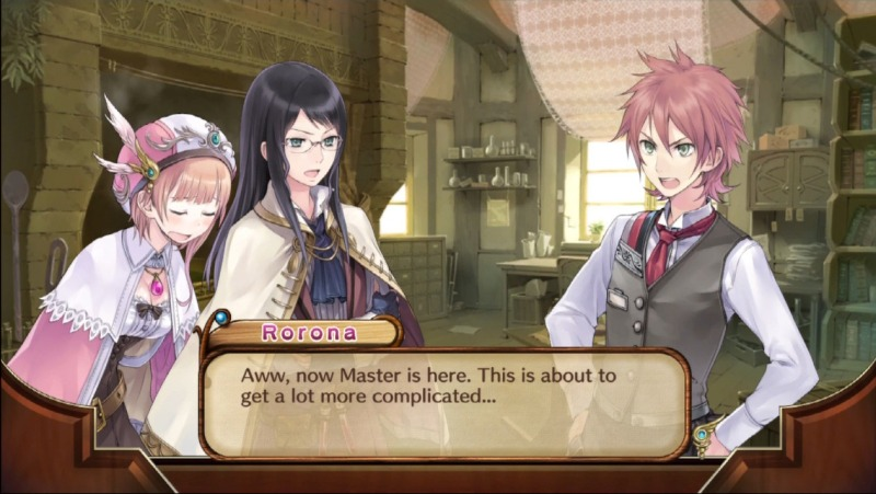 Atelier Rorona Plus is a fantasy game, but even in this world your boss is an asshole.